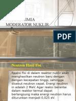 Proses Kimia Moderator Nuklir