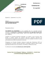 Cotizacion Fundi Aceros de Colombia