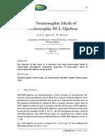 On Neutrosophic Ideals of Neutrosophic BCI-Algebras