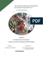 Evalution Report PVCHR