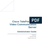 Cisco VCS Administrator Guide X6
