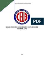 Reglamentogeneraldeestudiosdeposgradoceub - Copia