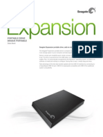 Seagate Expansion Portable Data Sheet