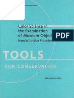 Color Science in Examination of Museum Objects