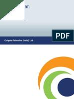 Coalgate Palmolive India MARKET CAP (RS CR)27,348.84 P/E50.80 BOOK VALUE (RS)56.64 DIV (%)2400.00% MARKET LOT1 INDUSTRY P/E54.74 EPS (TTM)39.59 P/C44.59 PRICE/BOOK35.51 DIV YIELD.(%)1.19% FACE VALUE (RS)1.00 DELIVERABLES (%) 49.59 new