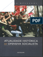 MÉSZÁROS, I. a Atualidade Histórica Da Ofensiva Socialista