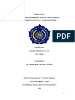Case Report Serosis Hepatis
