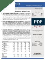 COL Financial - URC Earnings Analysis