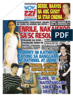 Pinoy Parazzi Vol 8 Issue 98 August 12 - 13, 2015