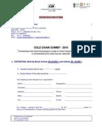 Registration Form EXHBITION