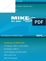 2 Introduction to MIKEFLOOD HydroEurope2011