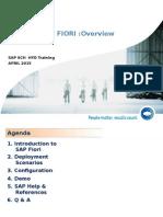 Sap Fiori Overview v2.0