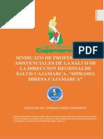 Estatuto Sindicato Profesionales de la Salud