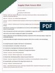 CPG Supply Chain Forum-2014