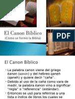El Canon Biblico.ppt