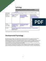 Developmental Psychology - Master_2014_2015