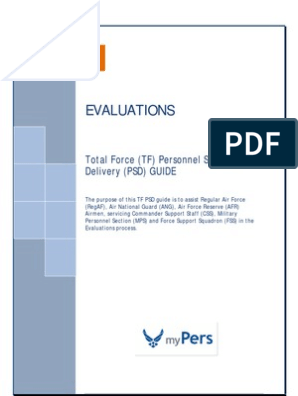 TF Evaluations PSDG as of 31 Jul 2015 Format v11 Final | Air