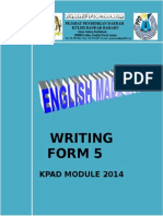 Writing Module Form 5