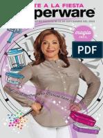 Mid August 2015 Brochure Spanish