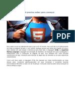 Você já usou HTML 5?