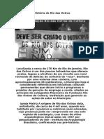 História de Rio Das Ostras