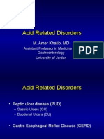 Acid Related Disorders