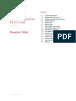 Architecture Conversion Tables
