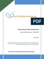 Relatório Mensal de Acompanhamento - DeZEMBRO 13
