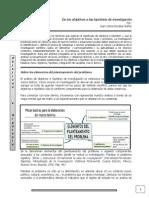 Documento de Los Objetivos a Las Hipotesis