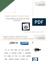 Publicación de Audio en Goear - Modificado