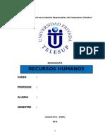 monografia RECURSOS HUMANOS