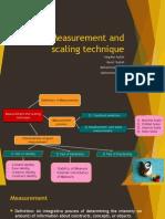 Measurement and Scaling Technique