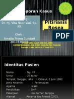 Laporan Kasus Pitiriasis Rosea