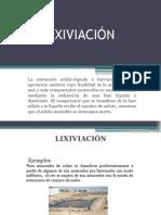 LIXIVIACION-DIAPOSITIVAS