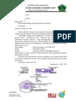 Surat Delegasi UKM MYRSA