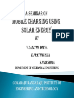 Solar Mobile Charging-PPT