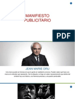 Manifiesto Publicitario