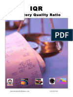 Inventory Quality Ratio  - An Inventory Reduction Metric, Method & Tool
