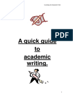 Academic Referencing Guide