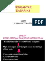 Pengantar Dasar k3