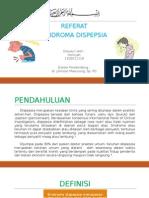Referat Sindroma Dispepsia - HOIRIYAH