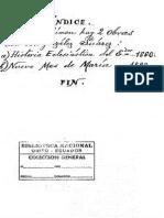 Historia Eclesiastica Del Ecuador