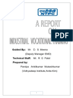 Ankit- NTPC Training Report