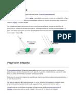 Proyección gráfica