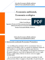 e Economia Ambiental Economia Ecologica
