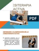 Presentación de Cinesiterapia Activa