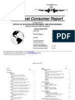 U.S. DOT Air Travel Consumer Report