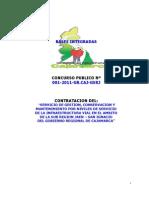 BASES PARA CONCURSO PUBLICO