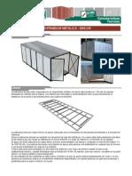 Ecosan Caracteristicas Tecnicas Contenedor Metalico