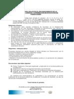 Requisitos Para Solicitar El Reconocimiento de La Personalidad Juridica y Aprobacion de Estatutos de Fundaciones Feb 2012